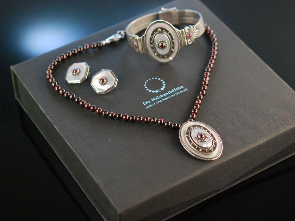 Sch 246 N Zum Dirndl Trachten Schmuck Kette Armband Ohrringe