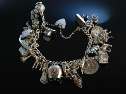 Witty Charms! Bettelarmband Sterling Silber London um...