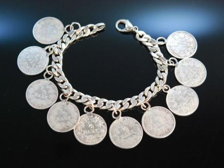 Leises Klimpern Schönes Armband Silber 925 Antike Silber Mü
