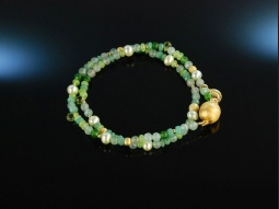 Soft Green! Fancy Armband...