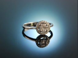 My Dearest! Verlobungs Engagement Ring Weiß Gold 750...