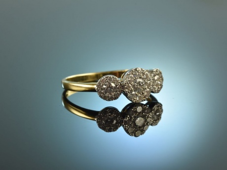 Say yes! Edler Verlobungs Ring Brillanten 0,55 ct Gold 750