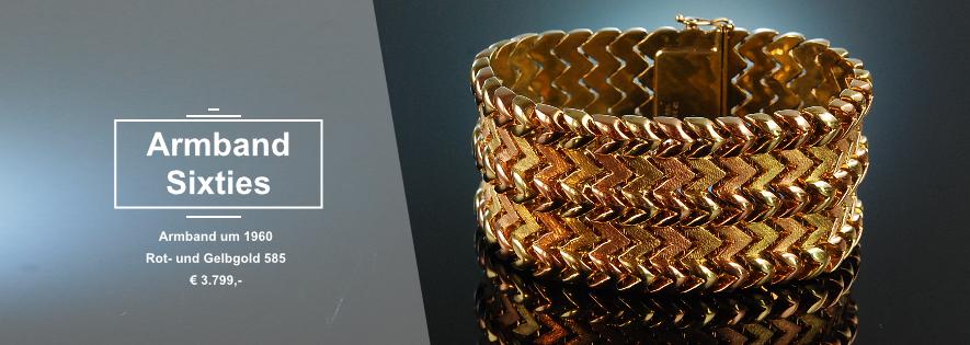 Armband Gold Sixties