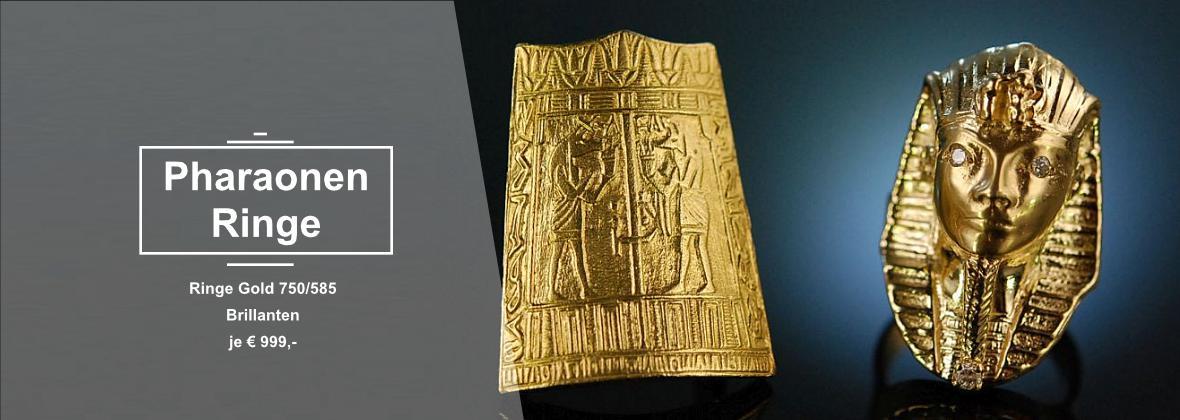 Pharaonenringe Gold