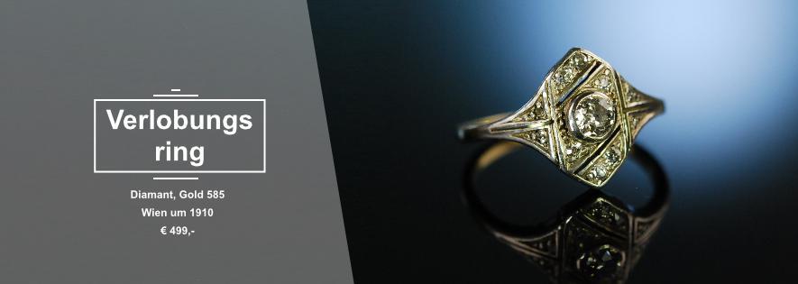 Verlobungsring Diamant Engagement Ring